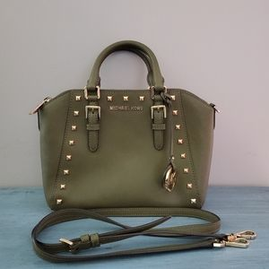 Michael Kors Ciara Studded MD Messenger Handbag